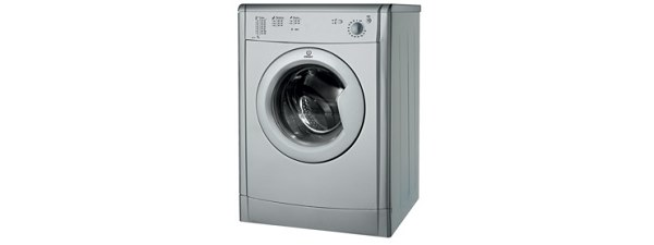 Indesit IDV75S Vented Tumble Dryer freestanding silver