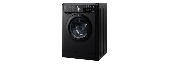 Indesit Advance IWDE7145K Washer Dryer Freestanding Black
