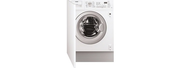 AEG Integrated 161271B1 Washing Machine in White