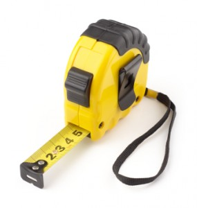Picture of a tape measure