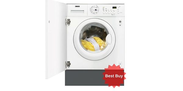 Zanussi ZWi71201WA Built-in Washing Machine Review