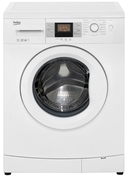 Picture of a popular beko washing machine model