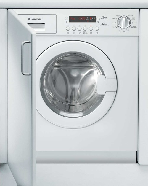 Picture of a built in candy washing machine