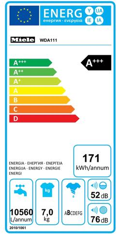 Pictureof the eu energy label for this model