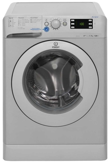 picture of an indesit innex washing machine