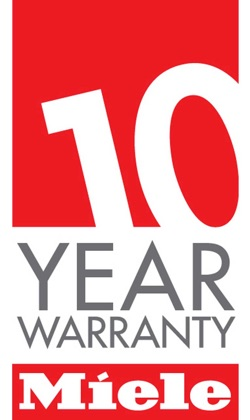picture of the miele 10 year warranty logo