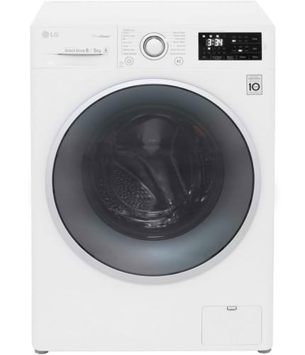LG Eco Hybrid With TrueSteam FH4U2TDH1N 8Kg / 5Kg Washer Dryer with 1400 rpm