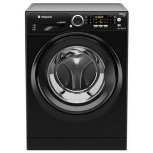 Hotpoint RPD9467JKK 9KG 1400 Spin Black washing machine